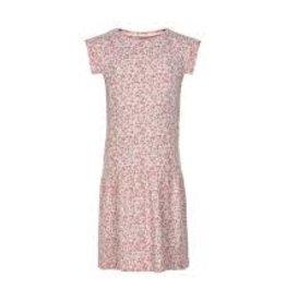 Minymo Minymo - Pink Floral Bamboo Dress