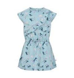 Minymo Minymo - Blue Floral Dress