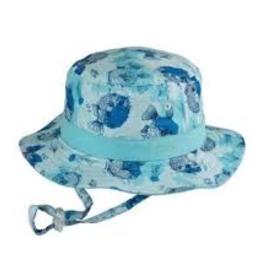 Dozer Dozer - Baby Boys Bucket Hat - Bubble Blue