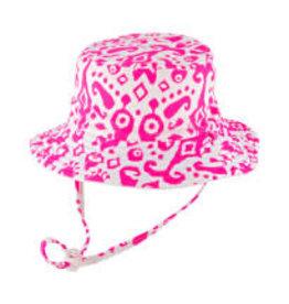 Millymook Millymook - Girls Bucket Hat - Fiona Pink