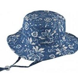 Millymook Millymook - Girls Floppy Hat - Blue Kaylee