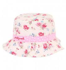 Millymook Millymook - Girls Bucket Hat - Vintage Floral