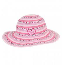 Millymook Millymook - Girls Floppy Sweetheart Hat - Pink