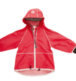 Calikids Calikids - Unlined Rain Jacket Red