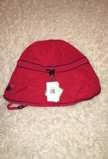 Calikids Calikids - Quick Dry Flap Hat Red w Crab Applique