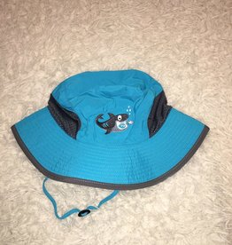 Calikids Calikids - Quick Dry Bucket Hat Turquoise w Shark