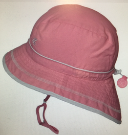 Calikids Calikids - Quick Dry Hi/Lo Bucket Hat Light Pink/White