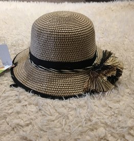 ad0adda7512 Calikids Calikids - Straw Hat w Black Trim