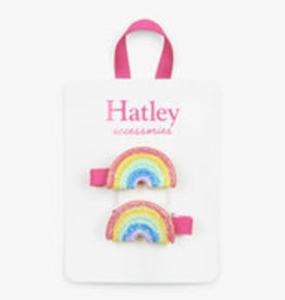 Hatley Hatley - Double Rainbow Hair Clips