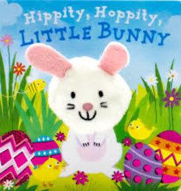 Hippity, Hoppity, LIttle Bunny - Board Book w Puppet