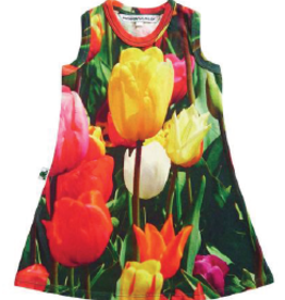 Inchworm Alley Inchworm Alley - Tulips Swing Dress