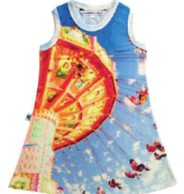 Inchworm Alley Inchworm Alley - Carnival Swings Swing Dress