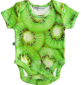 Inchworm Alley Inchworm Alley - Kiwi Short Sleeve Onesie