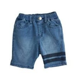 Bit'z Kids Bit'z Kids - Denim Wash Shorts w Leg Stripes