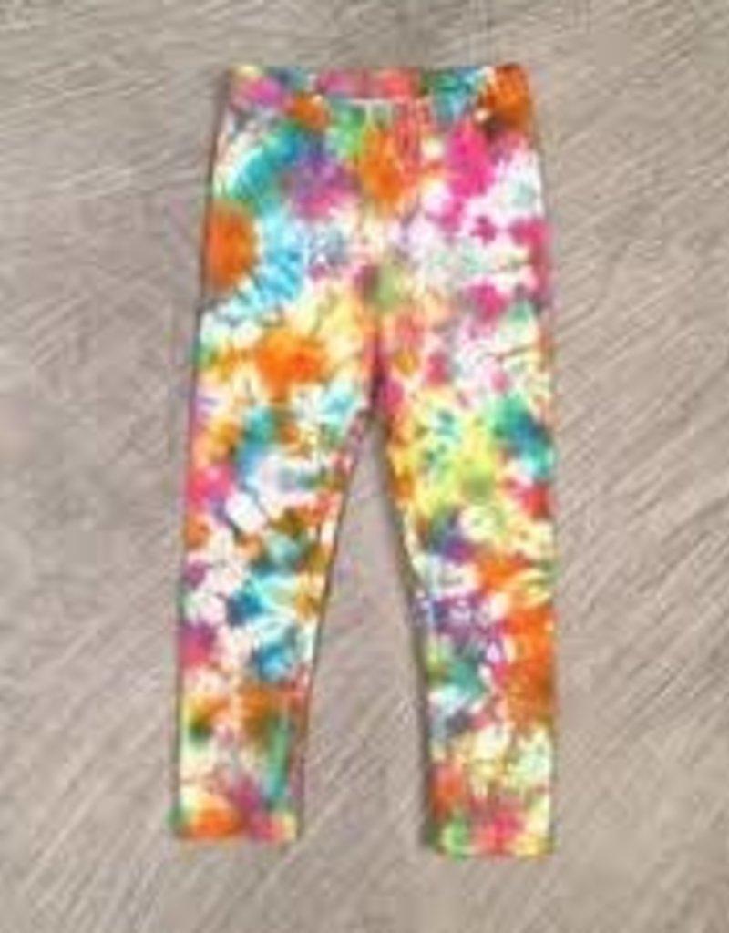 Bit'z Kids Bit'z Kids - Girls Bright Tie Dye Leggings