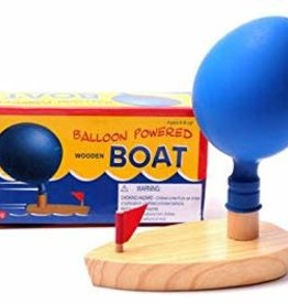 Schylling Schylling - Balloon Powered Wooden Boat