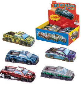 Schylling Schylling - Rev-Up Racers Tin Trucks Assorted