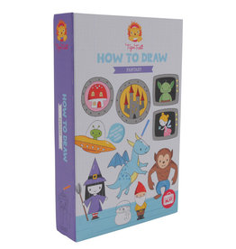 Tiger Tribe Tiger Tribe - Colouring Set Fantasy How To Draw