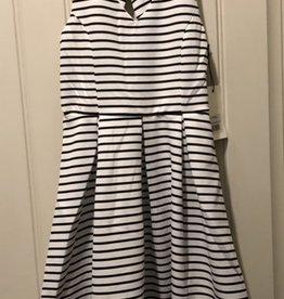 Mexx Mexx - Navy Striped Dress w Back Bow