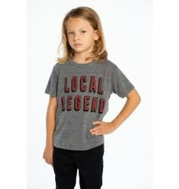 Chaser Chaser - Local Legend Grey Mix Tee