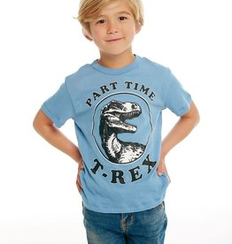 Chaser Chaser - Part Time T Rex Blue Tee