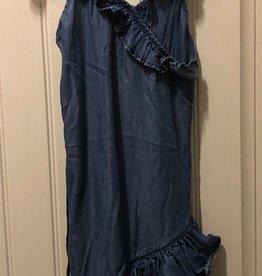 Mexx Mexx - Denim Crossover Frill Dress