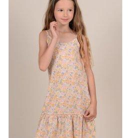 Mini Molly Mini Molly - Pastel Flower Print Dress