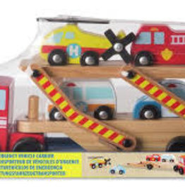 Melissa & Doug M&D  - Emergency Vehicle Carrier