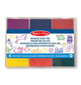 Melissa & Doug M&D -  Jumbo Rainbow Stamp Pad