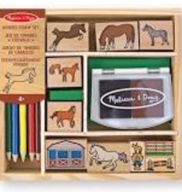 Melissa & Doug M&D - Horses Stamp Set