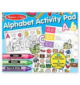 Melissa & Doug M&D - Alphabet Activity Pad
