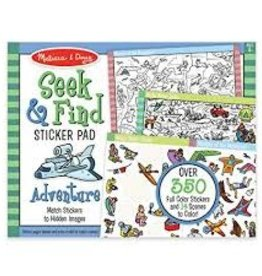 Melissa & Doug M&D - Seek & Find Sticker Pad - Adventure