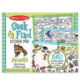 Melissa & Doug M&D - Seek & Find Sticker Pad - Animals