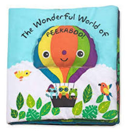 Melissa & Doug M&D - K's Kids - The Wonderful World of Peekaboo!  Cloth Book