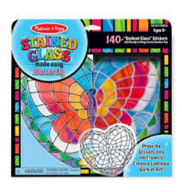 Melissa & Doug M&D - Stained Glass Made Easy - Butterfly 140+ stickers
