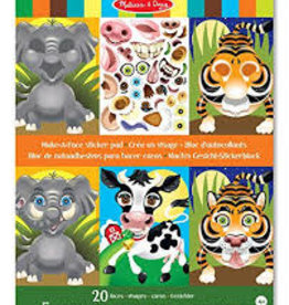 Melissa & Doug M&D - Sticker Pad - Make a Face - Animals