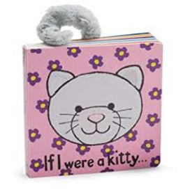 JellyCat JellyCat - If I Were A Kitty Book