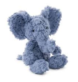 JellyCat JellyCat - Small Squiggle Elephant Blue