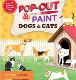 Storey Pop Out & Paint - Cats and Dogs Activity Book