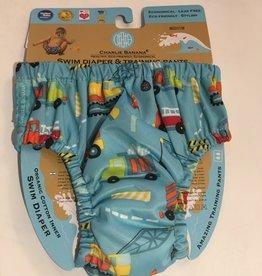 Charlie Banana Charlie Banana - Construction Swim Diaper