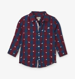 Hatley Hatley  - Silhouette Rex Button Down Shirt