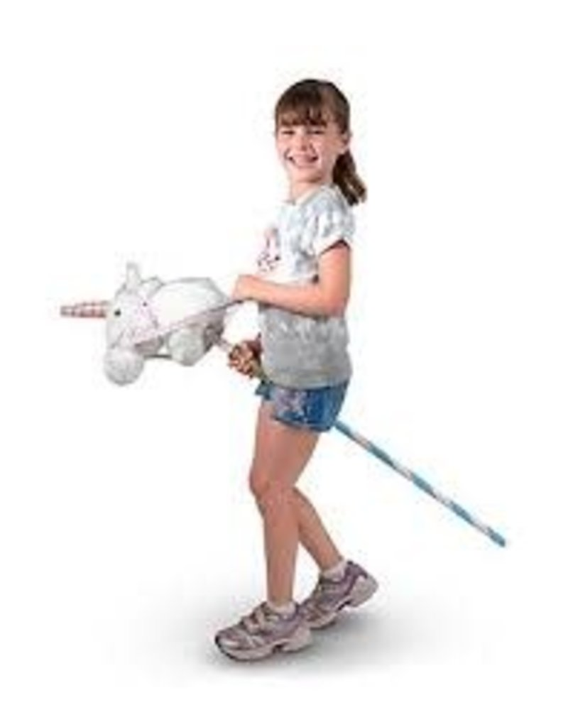Melissa & Doug Prance-N-Play Stick Unicorn - Plush