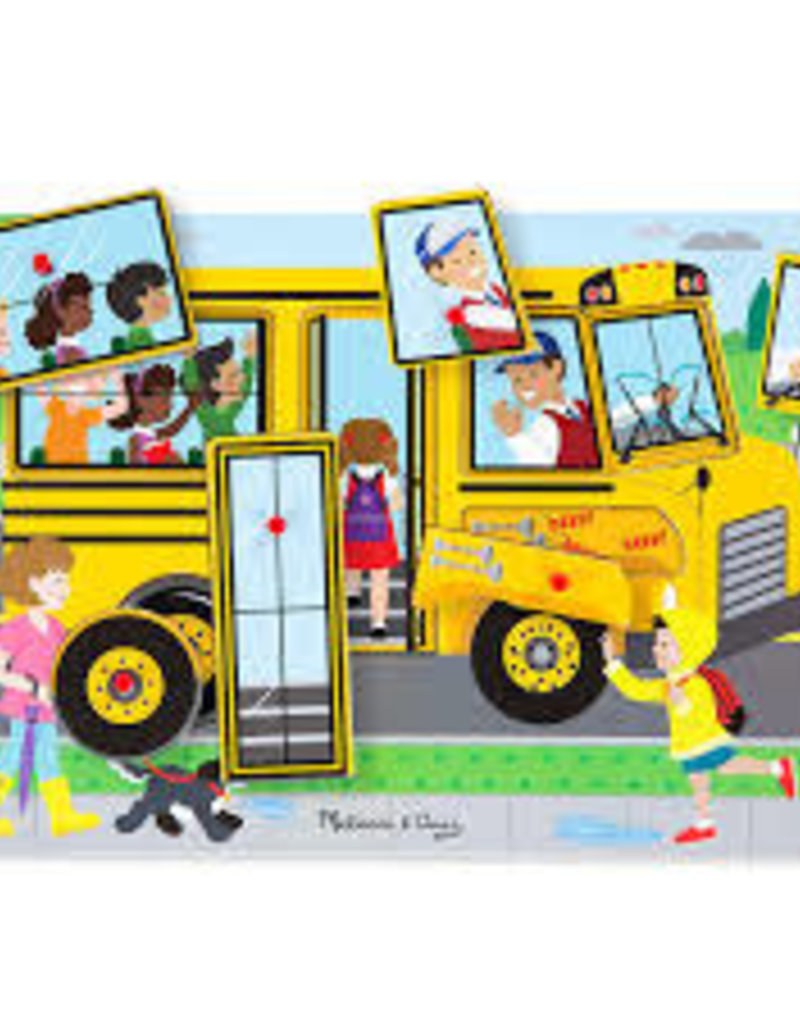 Melissa & Doug M&D - Sound Puzzle - Wheels on the Bus