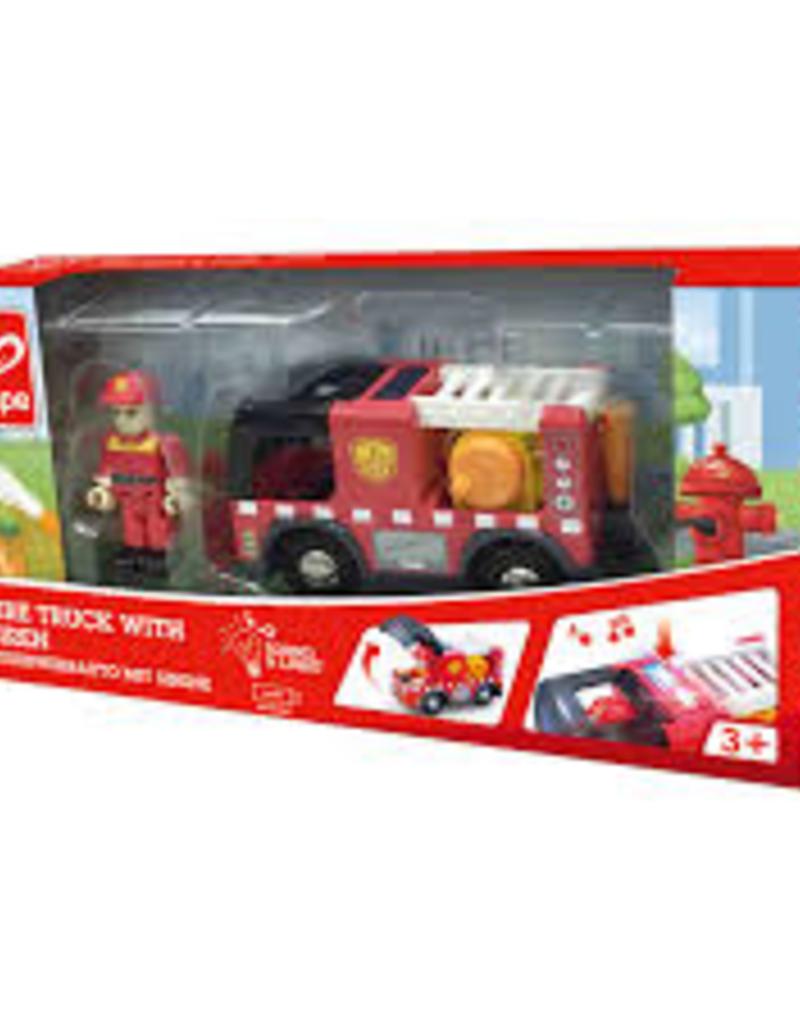 Hape Hape - Fire Truck with Siren