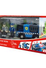 Hape Hape - Police Car with Siren