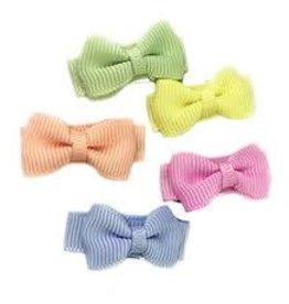 Babywisp Babywisp - Small Snap Tux Bows 5 Pack - Flower Fields