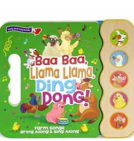 Cottage Door Press Baa Baa Llama Llama Ding Dong! Sound Board Book