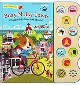 Cottage Door Press Busy Noisy Town - Sound Board Book