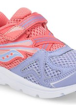Saucony Baby Ride Sneaker Coral/Periwinkle