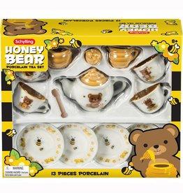 Schylling Honey Bear Porcelain Tea Set